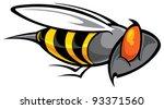 bee | Shutterstock .eps vector #93371560