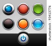button set | Shutterstock .eps vector #93413776