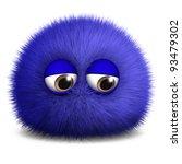 blue monster | Shutterstock . vector #93479302
