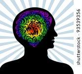 conceptual illustration of a... | Shutterstock . vector #93539356