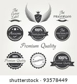 collection of premium quality... | Shutterstock .eps vector #93578449