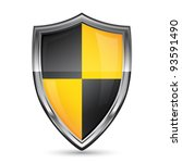 shield icon | Shutterstock .eps vector #93591490