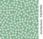 Stock vector spring flower pattern 93639985