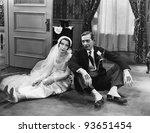 honeymoon's over | Shutterstock . vector #93651454