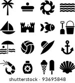 Summer Pictograms