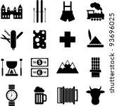 Switzerland Pictograms