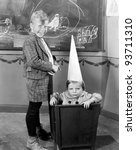 DUNCE CAP - stock photo