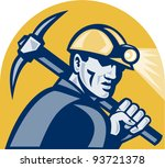 vector illustration of a coal... | Shutterstock .eps vector #93721378