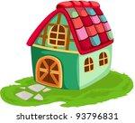 illustration of isolated... | Shutterstock .eps vector #93796831