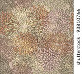 eps 10  vector seamless floral...   Shutterstock .eps vector #93810766