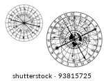 Vector Astronomical Clock
