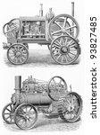 Vintage Traction Steam Engine...
