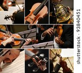 classical music collage | Shutterstock . vector #93840451