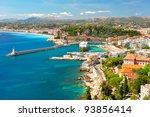 view of nice  mediterranean... | Shutterstock . vector #93856414
