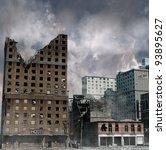 Urban Destruction  Illustratio...