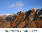 The Moon Above Scafell Pike...