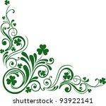 shamrock for st.patrick's day.... | Shutterstock .eps vector #93922141