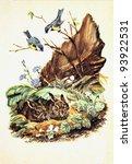 ussr   circa 1957  reproduction ... | Shutterstock . vector #93922531