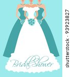 Vector Illustration Of A Bride...