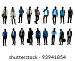 man fashion | Shutterstock .eps vector #93941854