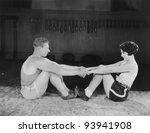 warming up | Shutterstock . vector #93941908