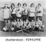 PLAY BALL - stock photo