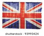 British Flag On Original...