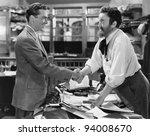 handshake agreement | Shutterstock . vector #94008670