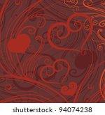 valentine's day  background | Shutterstock .eps vector #94074238