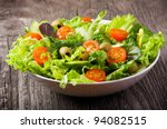 Salad With Vegetables And...