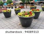 Montreal Square in Quebec, Canada - stock photo