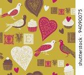 Cute Pigeons. Valentine...