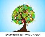 vector tree   Shutterstock .eps vector #94107700