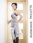 leaving bedroom | Shutterstock . vector #94112770