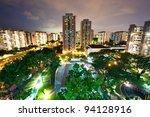 Hdb Housing Complex In Singapore