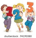 vector illustration  school...   Shutterstock .eps vector #94190380