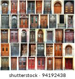 Compilation Of Old Doors ...