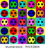 colorful football background | Shutterstock . vector #94192804