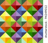 abstract geometric grey... | Shutterstock .eps vector #94249012