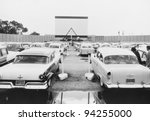 drive in movie | Shutterstock . vector #94255000