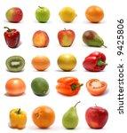 set of different bright tasty...   Shutterstock . vector #9425806