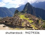 Mysterious City   Machu Picchu...
