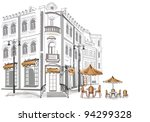 series of sketches of beautiful ...   Shutterstock .eps vector #94299328