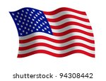 raster illustration of the usa... | Shutterstock . vector #94308442