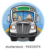 bus | Shutterstock .eps vector #94315474