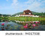 traditional thai architecture... | Shutterstock . vector #94317538