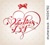 valentine card with...