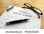 Loan Application Form Or...