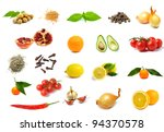 An Image Of A Group Of Fruits ...