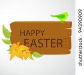vector easter background   Shutterstock .eps vector #94390909